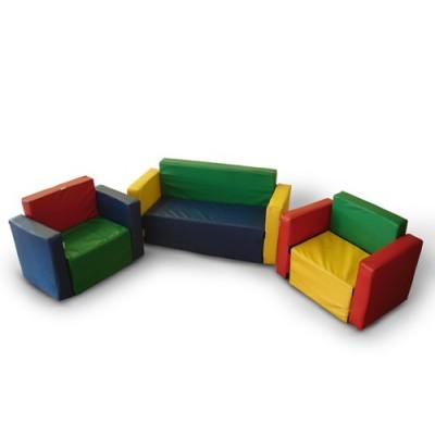Игровая мебель разборная - Уют (диван + 2кресла)